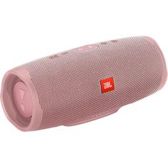 JBL Charge 4 Waterproof Bluetooth Speaker - Pink Now introducing the portable JBL Charge 4 waterproof Bluetooth speaker from RC Willey with full-spectrum powerful sound and a built-in power bank to charge your devices. Small Portable Speakers, Best Wireless Speakers, Bose Wireless, Wireless Speaker System, Waterproof Bluetooth Speaker, Music Speakers, Notebooks, Accessoires Iphone, Speaker Design