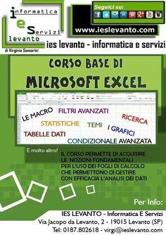 Partiamo con il corso base di Microsoft Excel! #corso #microsoft #excel #levanto #ieslevanto