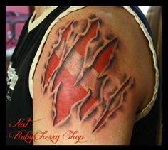 shark gill tattoo | Got Gills?'- Bringing A Freediving ...