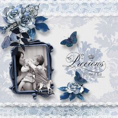 With A French Touch Scrapbook Designs, Scrapbooking, Touch, French, Frame, Home Decor, Homemade Home Decor, French People, Scrapbook