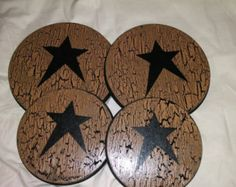 For the Cabin! Stove Burner Covers, Stove Top Burners, Primitive Crafts, Country Primitive, Country Crafts, Crafts To Make, Stencils, Projects To Try, Cabin Ideas