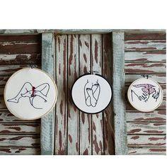 #embroidery #feitoamao #stich #bordado # atividaderelax #handembroidery #embroideryart #stitching #embroideryhoop #art #circle #trilogy #trilogia #corpos #body
