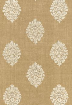 67340 Savanna Jute Embroidery Jute by Schumacher Fabric