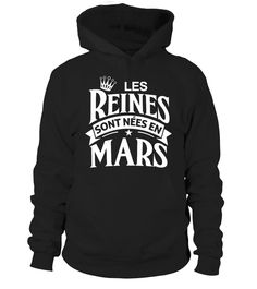 LES REINES SONT NEES EN MARS  #image #grandma #nana #gigi #mother #photo #shirt #gift #idea