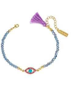 BaubleBar Evil Eye Bead Bracelet on shopstyle.com