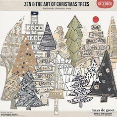 Zen & the Art of: Christmas Trees by Maya de Groot
