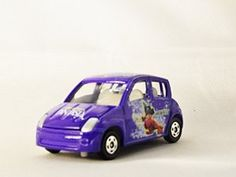 TAKARA TOMY TOMICA DISNEY Toyota WiLL Vi Mickey Mouse R Minicar D-06 Diecast Car Figure Limited Edition Purple