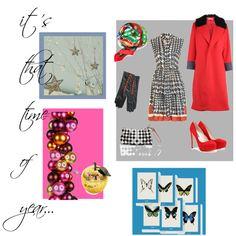 II it's that time of year..., created by #anthrofashionist on #polyvore. #fashion #style #Marni Rupert Sanderson