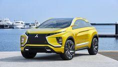 Elektroauto Mitsubishi eX feiert Europapremiere in Genf