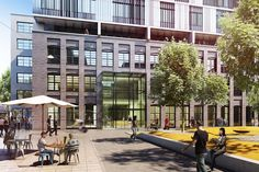 Gallery of Plans Unveiled For Hollwich Kushner's Mixed-Use Business District in Munich - 7