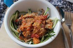 Aubergine curry met seitan