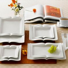Looking for a gift for book club? Book Shaped Plates & Platters Vignette are the perfect book related gifts for her and any book lover!