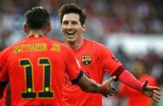 Blog Esportivo do Suíço:  Messi bate recorde de Ronaldo no Barça pela quinta vez