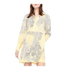 --evaChic--This Sandro Eytan Floral Long-Sleeve Silk Mini Shirtdress features an amazing sketch floral print and a classic roomy silhouette that makes for ideal vacation wardrobe accent. The V-neck and front button placket offer extra comfort. You can accessorize it and turn it into a cocktail party dress.        https://www.evachic.com/product/sandro-eytan-floral-long-sleeve-silk-mini-shirtdress/