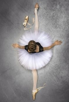Ballet. Reminding me of my Miss C., ballerina. Keep dancing, my lovely girl.