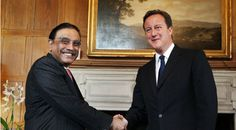 Pakistan assures David Cameron of supporting peace deal