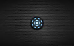 Wallpaper - Tony Stark 'Arc Reactor' Shirt Logo by Kalangozilla