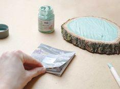 Anmalen Farben Holz Stein Papier nachhaltig DIY verzieren KREUL Nature Set Paper, Sustainability, Stones, Colors, Creative
