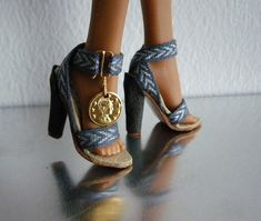 Sandals for a Monster High doll