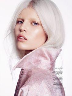 visual optimism; fashion editorials, shows, campaigns & more!: ola podbija świat: ola rudnicka by gosia macias for elle poland february 2014...
