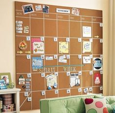 This is such a helpful idea for a teenagers bedroom!