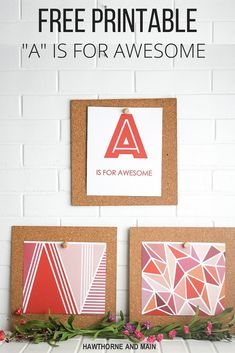 A is for Awesome F