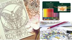 Hanna Karlzon Coloring Books