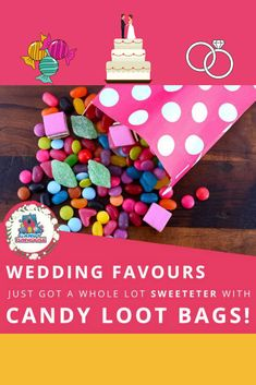 """Are you in the middle of planning your """"big day""""? Let us help you out with THIS wedding favour idea! Candy Wedding Favors, Loot Bags, Guest List, Bag Making, Big Day, Perfect Wedding, Wedding Planning, Middle, Posts"""