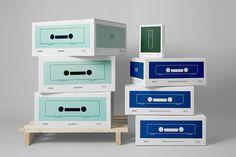Package design by Oslo based Neue for Norwegian hi-fi company Hegel