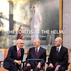 #ldsquotes #lds #presnelson #thelivingchrist #russellmnelson #prophet The Lord is at the helm. #pressconference
