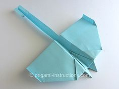 Origami Airplane Instructions - How to Make Paper Airplanes