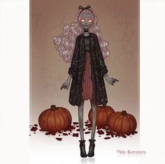 Halloween 2016! by MidaIllustrations