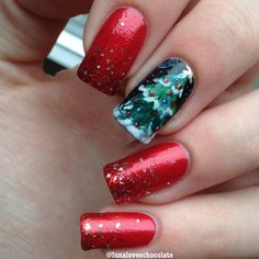 christmas by lunaloveschocolate #nail #nails #nailart