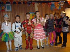 Jozefschool Medemblik: even geen rekenen en taal maar 'Carnaval'!!!