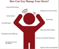 Little ways to effectively reduce and manage your stress.