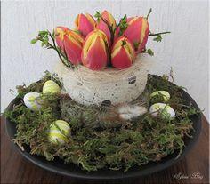 Tafelstuk voor Pasen