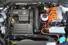 veiculos Volkswagen Golf GTE 2014 foto do motor