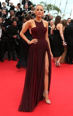 BLake Lively. La alfombra roja del Festival de Cannes (primer día)