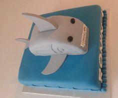 Sharke Cake Haai taart http://www-taart-van-miranda.webklik.nl