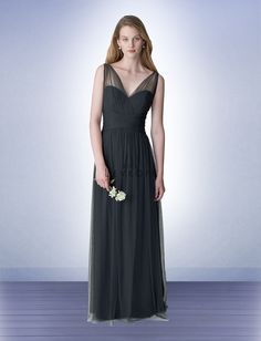 Bridesmaid Dress Style 1255 - Bridesmaid Dresses by Bill Levkoff  *Available at http://www.tie-the-knot-bridal.com/ Green Bay, WI.  Call us at 920-662-1920 to schedule an appointment.