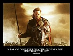 Battle speech at the gates of Mordor. Return of the King