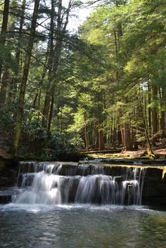 Swallow Creek Falls State Park in western Maryland.