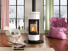 La-Nordica-Fortuna-Double-Sided-Wood-Stove-White-Fireplace-Products