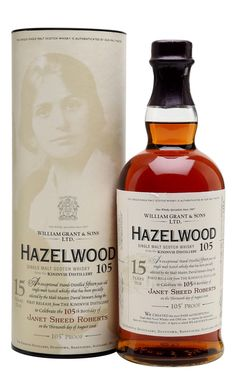 HAZELWOOD 105 KININVIE 1990 15 Year Old, Speyside