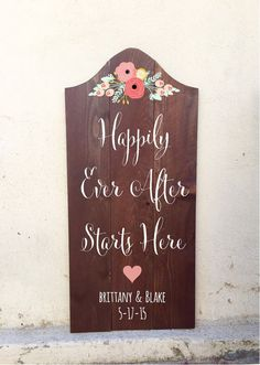 Hey, I found this really awesome Etsy listing at https://www.etsy.com/listing/223090815/rustic-wedding-sign-happily-ever-after