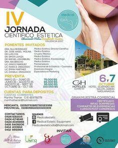 Te invitamos a disfrutar de esta espectacular jornada junto a  @emanaluzacademia  Atención #Valencia y #Maracay Los invitamos a la IV Jornada Científico Estética los días 6 y 7 de Octubre en las instalaciones del Guaparo Inn.  EVENTO: 4ta Jornada Científico Estética Alcanzando metas. Cumpliendo sueños  INFORMACIÓN: 0426 5182105 0424 4174646 0424 4045868 0416 6409206 0414 4015912 0412 5651664 0424 4058562  #laviña #prebo #guaparo #eltrigal #sandiego #lasdelicias #lasoledad #belleza #salud…
