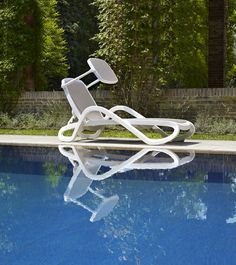 Sunlounger Alfa #cafeideas #nardi #outdoorfurniture #italianfurniture