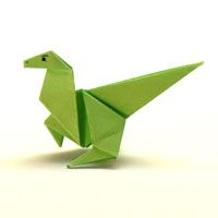 Origami Dinosaurier