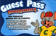 Mommy Katie: #Giveaway Making Memories When Spending Your Holiday Break With Chuck E. Cheese's 2 Winners (Holiday Guide)