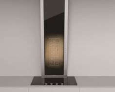 """This cook's aid takes you step by step through a recipe selected from the memory. No, it's not a home cooking service, but a smart hood that thinks and acts like a robot. It's called Tower and is the """"range hood we will all have in our homes in a few years time"""". This model uses a tablet and a special app to interact directly with the hob to adjust the level of air suction needed as the food is cooked."""